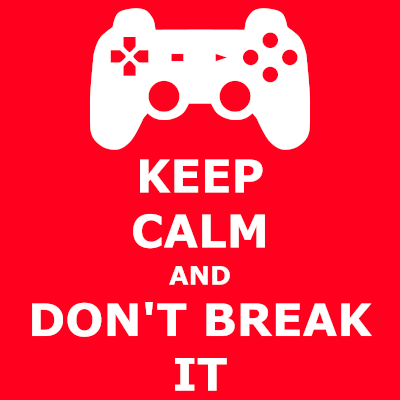 Keep Calm and Don't Break your Game Controller T-Shirt